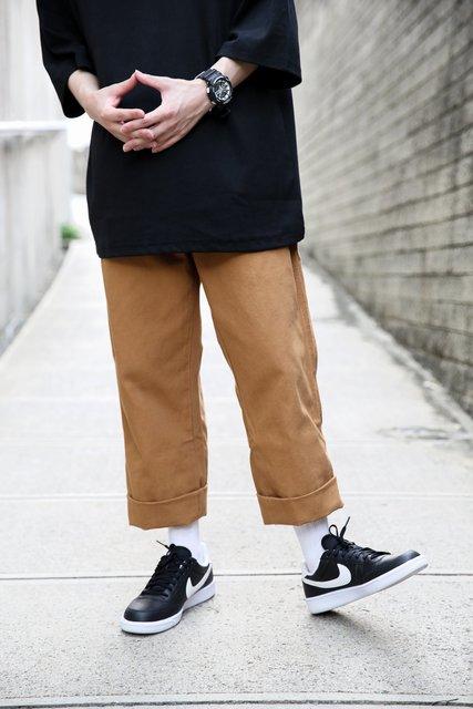 DICKIES 的 卡其休閒高磅工作褲
