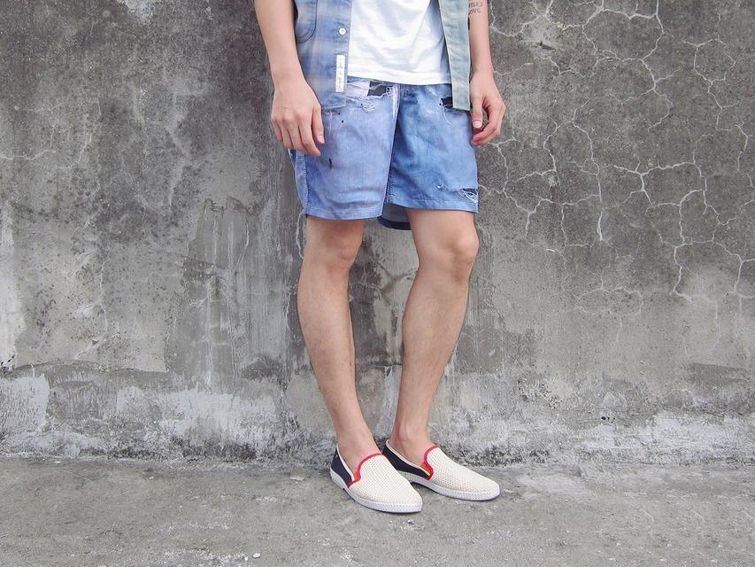 無品牌 的 牛仔短褲