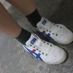 ONITSUKA TIGER 的 復古球鞋