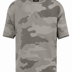 OTHER UK 的 OVERSIZED JERSEY TEE / STONE CAMO