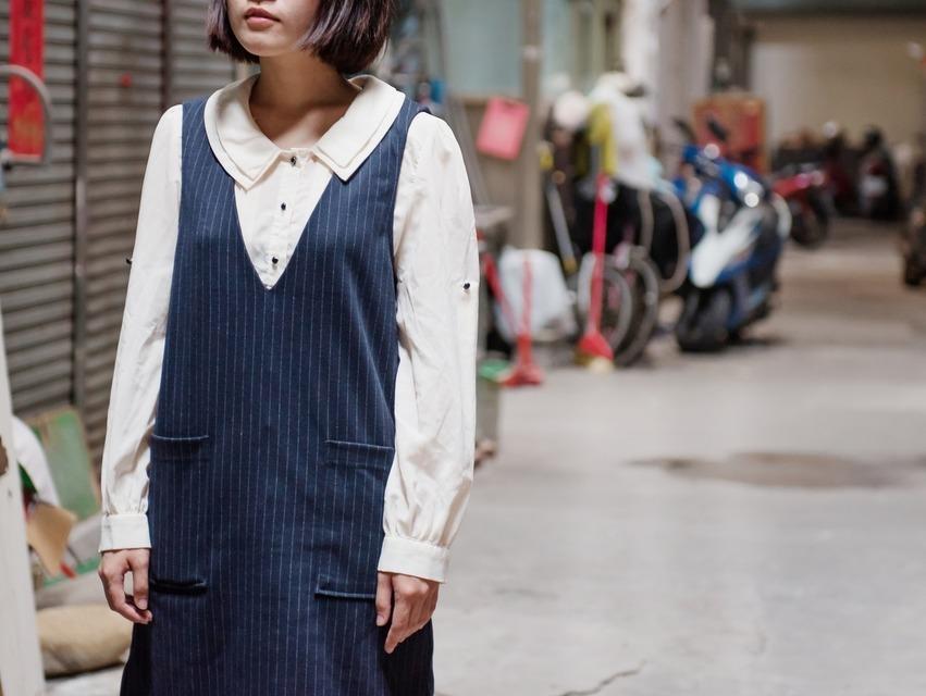 GU 的 條紋洋裝