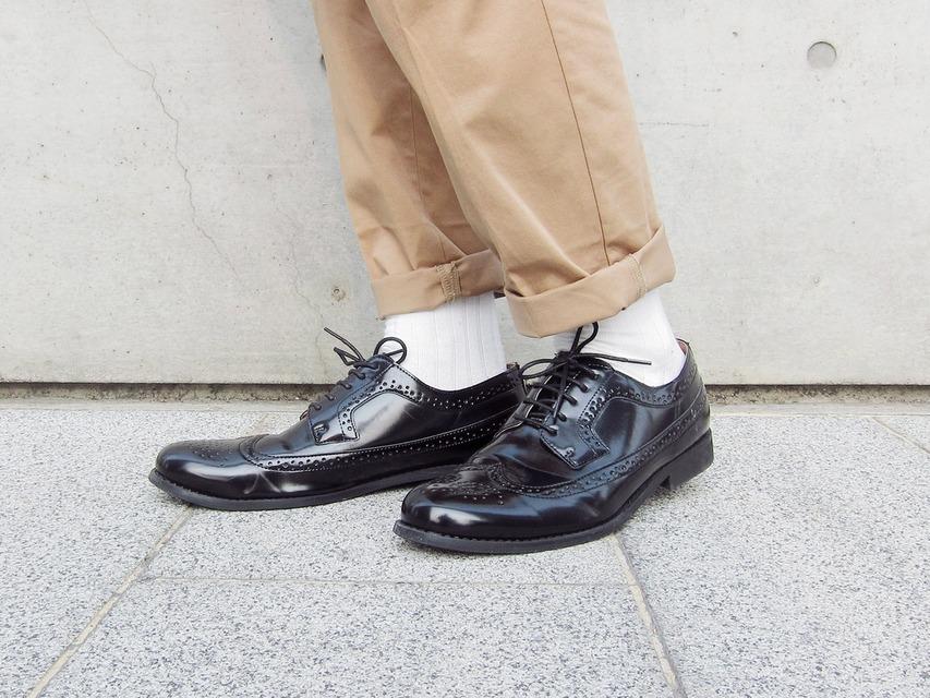 GU 的 牛津鞋