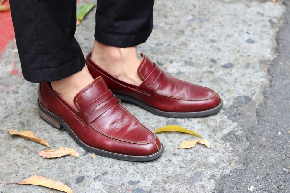 VANGER 的 都會雅尚紳仕樂福便鞋