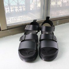 網購韓貨 的 厚底涼鞋