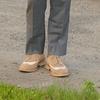 ZARA 的 雙色翼紋德比鞋