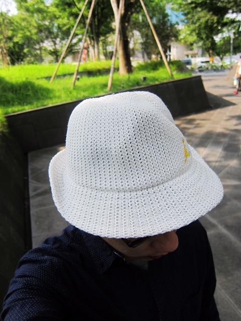 AIR JORDAN 的 白色編織帽