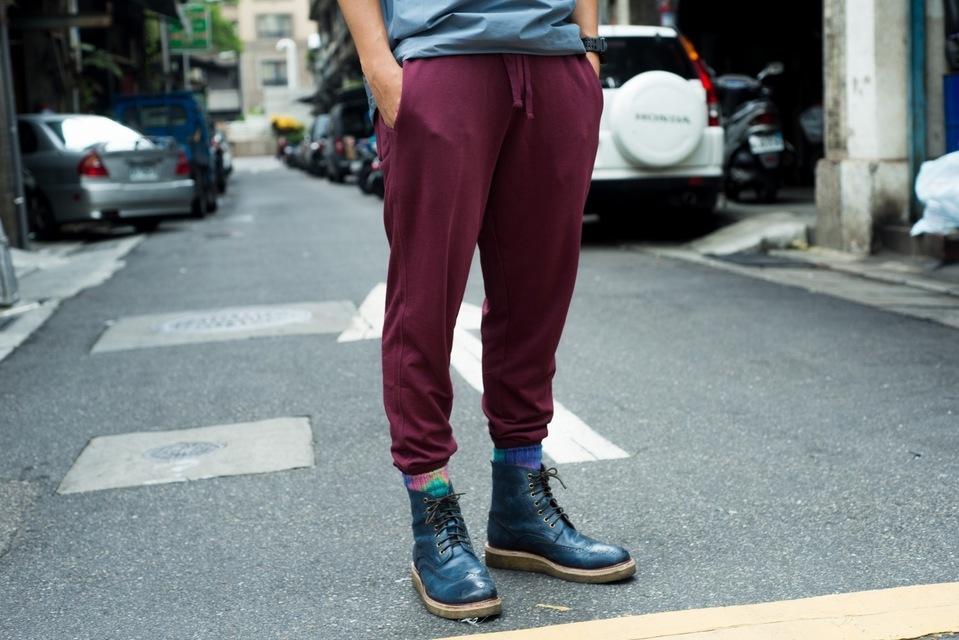 GIORDANO 的 束口褲