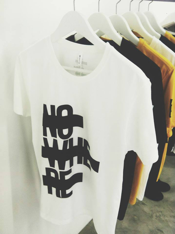 "IONISM DESIGN 的 A.F.P"" COLLECTION - NO WHERE T-SHIRT"