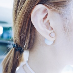 GLASSWORK 的 EARRINGS