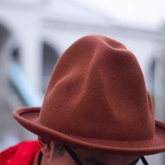 無品牌 的 山形帽