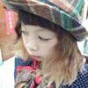 JAPAN  的 羊毛呢橘格紋紳士帽
