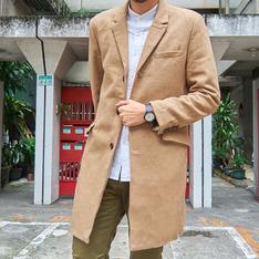 H&M 的 長版大衣