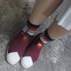 ADIDAS ORIGINALS SLIP ON W 的 球鞋