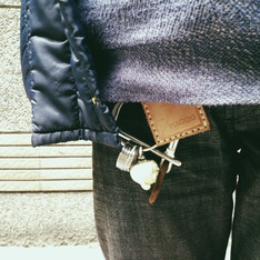 PIAGGIO AND UNDERCOVER 的 KEYCHAIN