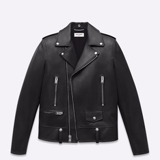 SAINT LAURENT  的 騎士皮衣