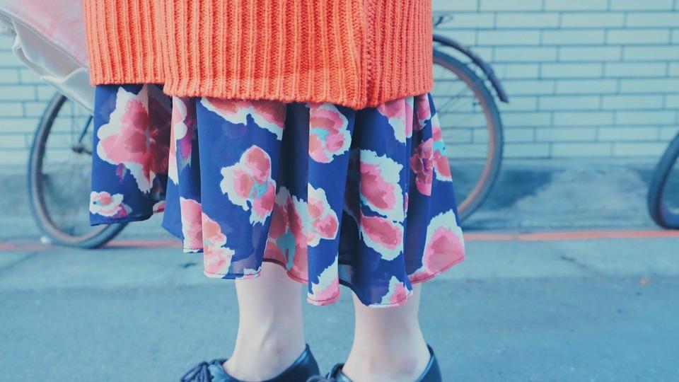 HELLO PHOEBE 的 花叢雪紡魚尾連身洋裝