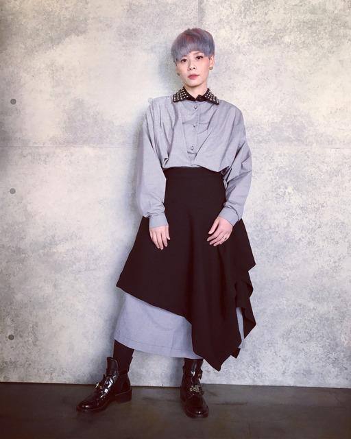 J.W.ANDERSON 的 長版襯衫洋裝