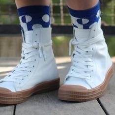 TOPSHOP 的 膠底皮革休閒鞋