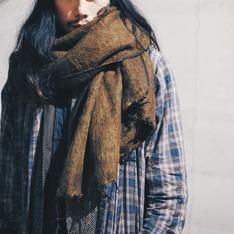 OMAKE 的 氂牛毛圍巾