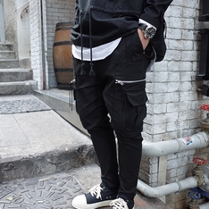 REPOS 的 ZIPPER BOTTOM PANTS