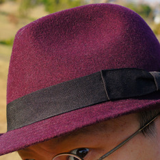 GU 的 紳士帽