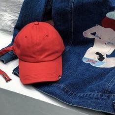 NERB 的 NERB - 金屬長帶帽(紅)