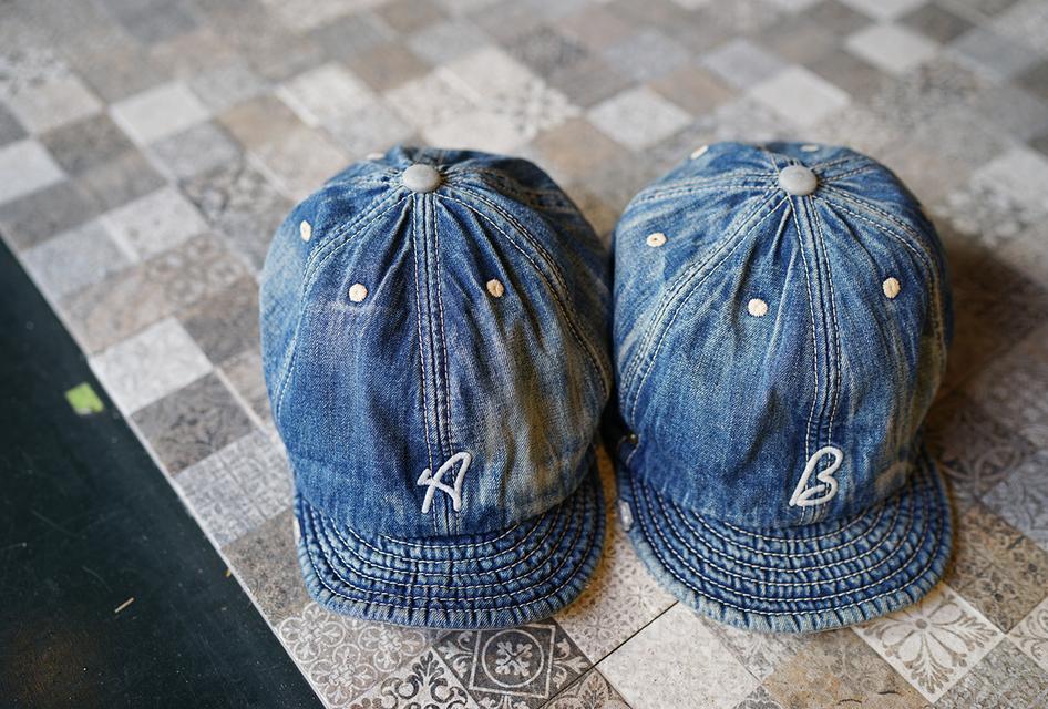 DECHO×ANACHRONORM 的 洗舊帽子