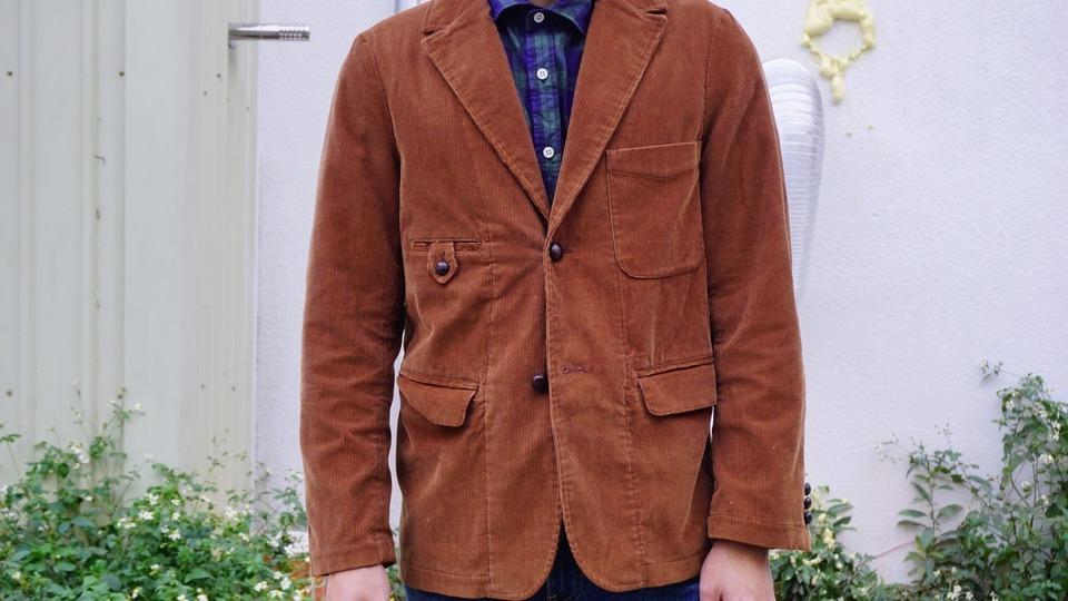 SYNDRO 的 燈芯絨西裝外套