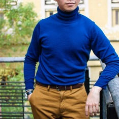 MUJI 無印良品 的 TURTLENECK SWEATER