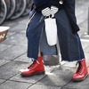 DR. MARTENS 的 PASCAL RED VINTAGE SMOOTH
