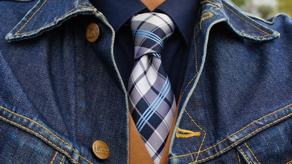 COMME CA ISM 的 格紋領帶
