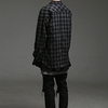 HIEDEN 的 HIEDEN ZIPPER CHECK SHIRTS