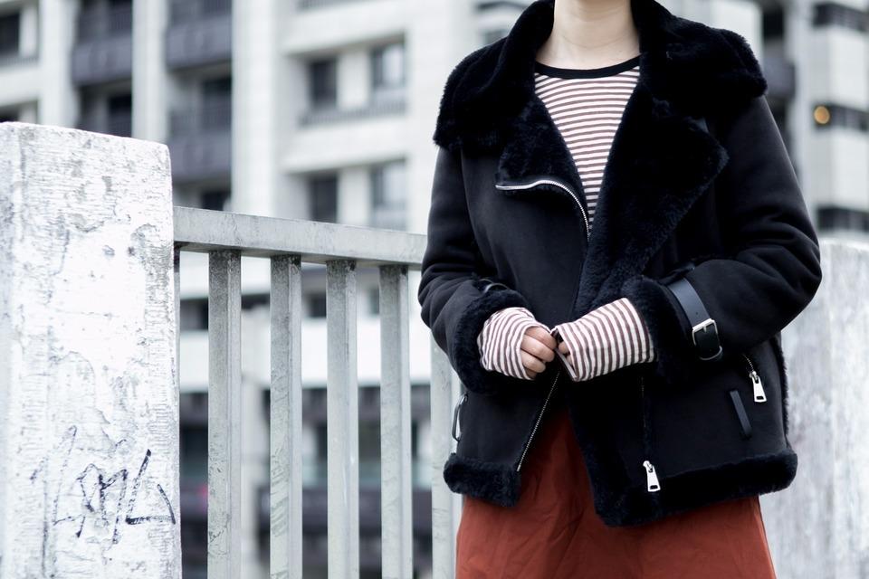 無品牌 的 羊羔毛外套