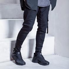 REPOS 的 側釦環雙拉鍊長褲