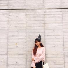 LULUS 的 粉色毛衣