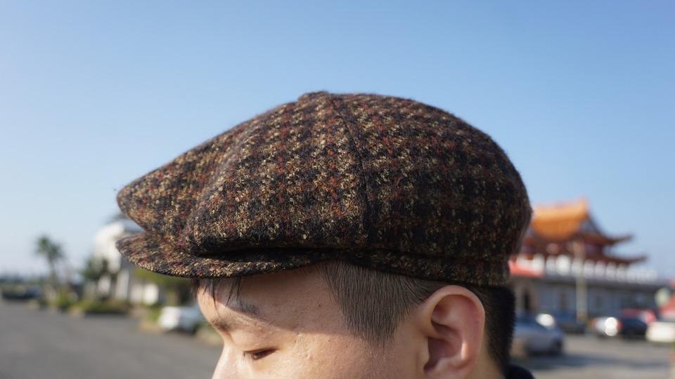 無品牌 的 報童帽