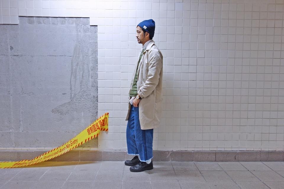 COP BY PLAIN-ME 的 寬版牛仔褲