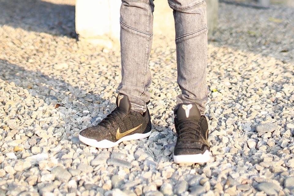 NIKE KOBE BRYANT XI ELITE GCR 的 KOBE 11 ELITE GCR 球鞋
