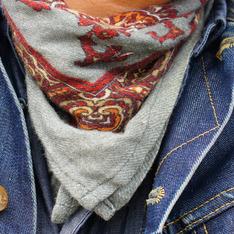 ZARA 的 領巾