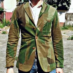 NIGEL CABOURN 的 迷彩獵裝外套