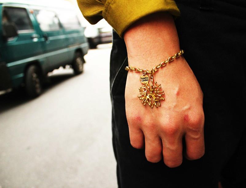 AGARIC GARDEN  的 手創古銅手飾