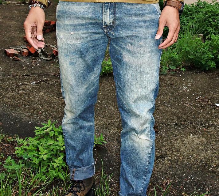 SCARTI-LAB 的 牛仔褲