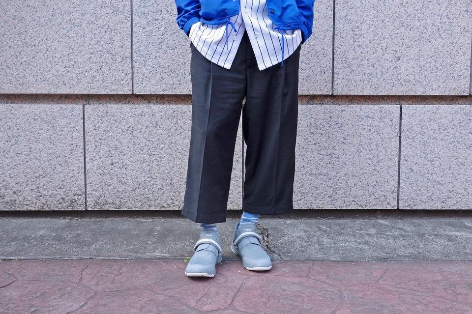 PLAIN-ME 的 寬版西裝褲