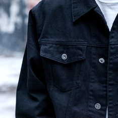 REPOS 的 DENIM RIDERS JACKET