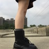 DR. MARTENS 的 1490馬丁靴10孔黑色硬皮