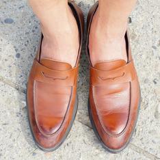 ZARA 的 樂福鞋