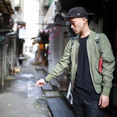 ALPHA INDUSTRIES 的 L-2B 飛行夾克