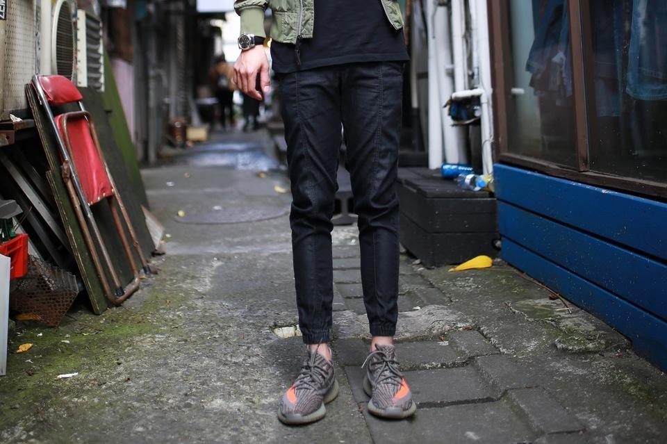 PENSHOPPE 的 束腳窄管休閒長褲