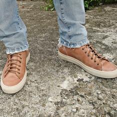 BUTTERO 的 原色皮質休閒鞋