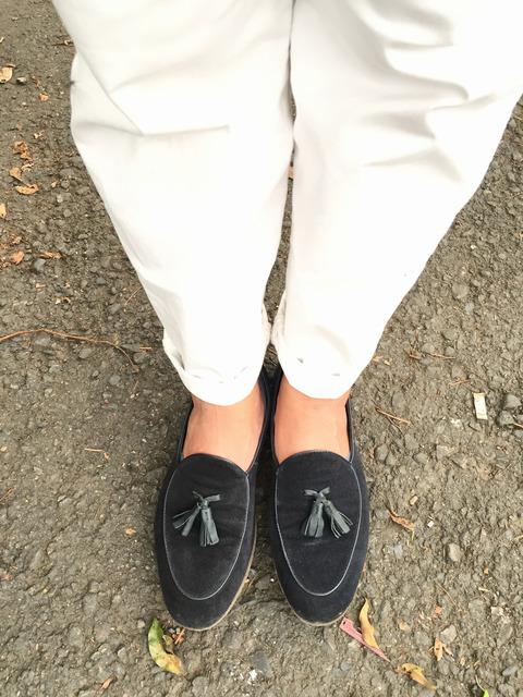 ZARA 的 流蘇樂福鞋